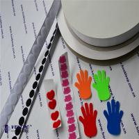 China Unique Self Adhesive Hook And Loop Tape Adhesive Backed Velcro Difference Colors wholesale