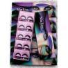 China Long Thick Synthetic Natural Looking Fake Eyelashes / Black False Eyelashes wholesale