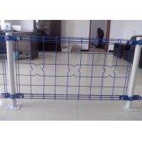 China decorative Double Loop Wire Fence/Double Roll Top Welded Fence/Double Wire Loop Yard Fence direct Anping factory wholesale