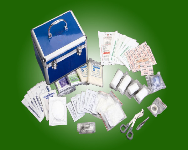 Quality First Aid Kit for hospital use , camp, travel, workplace, home, car, promotional gift   K005 for sale