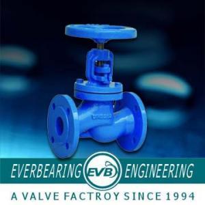 China DIN3356 Water Angle Type Manual Globe Valve on sale