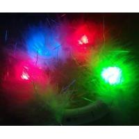 China PVC, ABS 2R1B1G Flashing White Feather Blinky Bracelets For Promotion Gift wholesale
