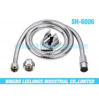 Extended Stainless Steel Toilet Flexible Shower Hose Fits For Brass / Zinc / Plastic Nuts