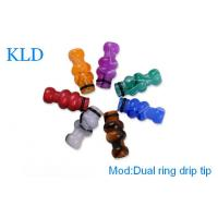 Buy cheap acrylic mouthpiece e cig accessories dual ring drip tip use for clearomizers and atomizers from wholesalers