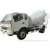 China T. King Chassis Concrete Mixer Truck 2 CBM , Ready Mix Cement Trucks wholesale