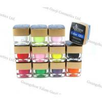 China All Colors Imported UV Gel Nails 15g / Bottle With Color UV Gel For Nail Art wholesale