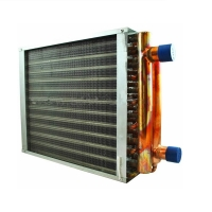 "China 5/16"" Epoxy Fin Type Heat Exchanger electrophoresis surface treatment wholesale"