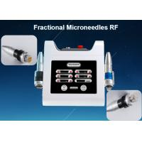 China Portable Therma Microneedle Fractional RF Acne Scar Removal Facelift Machine on sale