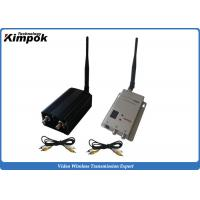 China 5000mW Wireless Video Link 1.2G AV Transmitter and Receiver for Unmanned Aerial Vehicle wholesale