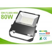 China 80w Outdoor Led FloodLight Fixtures Philips 3030 SMD Meanwell Driver wholesale