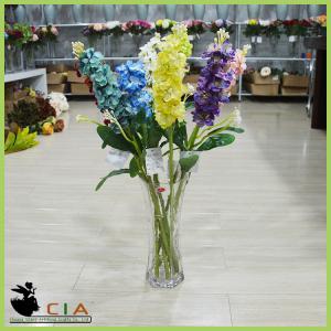 China Shop Artificial Silk Flower Bouquet Silk Flower Stem with Bush for Wholesaler Distributor wholesale