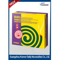 China Hotel Smokeless Mosquito Coil , Plant Fiber Mosquito Repellent Coil wholesale