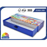Custom Rectangle Rigid Cardboard Drawer Gift Box for Soap / Candle / Cosmetic Packaging