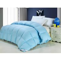 China Modern Navy Blue BeautifulDown Feather Quilt / Comforter with 50% White Duck Down wholesale