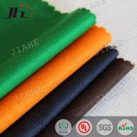 China Colorful dyed 100% RPET stitchbond nonwoven fabric for packing bags wholesale