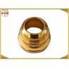 China Décoratif de luxe fait sur commande en alliage de zinc de capsules de parfum de couronne d'or wholesale