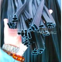 China flexible PVC extrusion seal with strong magnetic strips wholesale