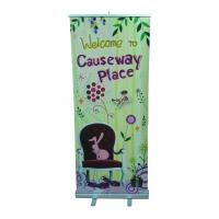 Buy cheap Indoor Roll Up Banner Size 80 x 200CM With 5-type Hook For Super Market from wholesalers