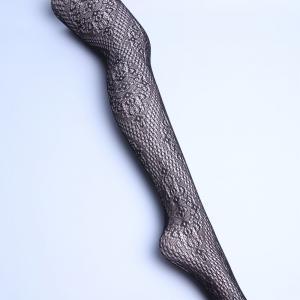 China Fashion Black Lace Stockings Plus Size Fishnet Leggings Custom Logo wholesale
