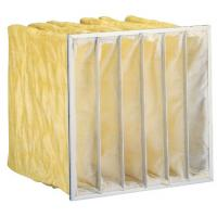 China High efficiency customized Non - woven  Air Filter Media / Synthetic fabric/ F8 pocket air Filter wholesale