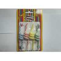 Unique Twisted Spiral Shaped Birthday Candles Flameless 4 Pcs Per Set