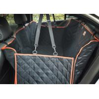 Large Back Seat Cover For Dogs , Trucks / SUVs Dog Car Seat Protector