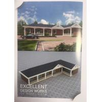 China C Frame Structure Light Prefab Steel House One Storey White Color Ready Made wholesale
