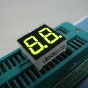 China Dual Digit 7 Segment Multiplexed LED Display For Digital Clock Indicator wholesale