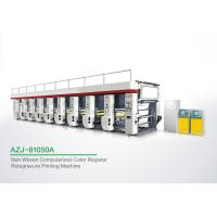 China Powerful 8 Color Rotogravure Printing Machine For Once Through Continuous Printing 1250 MM wholesale