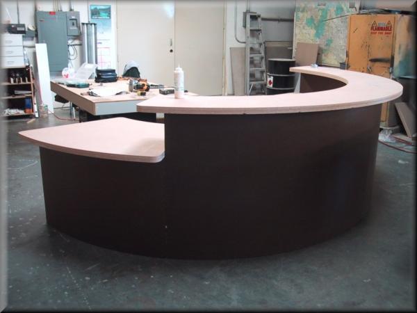 Salon Reception Desks Images