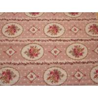 China Polyester printed wool peach fabric on sale