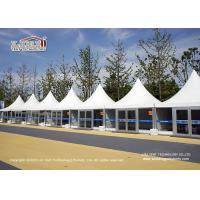 China Pagoda Tent And A Shape Sport Event Tents With Glass Sidewall For Event wholesale