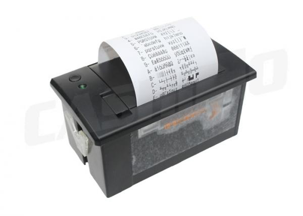 Quality Micro Panel Serial Receipt Printer , 203 Dpi Print Resolution Embedded Panel Mount Printer for sale