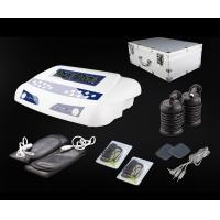 Home Use Dual Detox Foot Spa with Massage Belts and Pads Carrying Aluminium Case 20V 6A