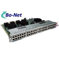 China 9216 WS X4748 UPOE E Used Cisco Modules For Power Over Ethernet 48 Ports on sale