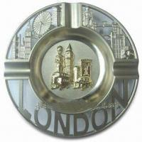China Promotional London Ashtray, Made of Alloy, Available in Various Sizes wholesale