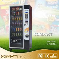 China Compact Dried Fruit Cold Drinking Vending Machine Dispenser With Card Reader KVM-G636 wholesale