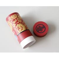 China Environmental Red Gift / Craft Paper Tube packaging Box with ISO SGS FDA QS wholesale