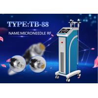 2MHZ Fractional RF Microneedle Whitening Machine / Radiofrequency Wrinkle Removal Device