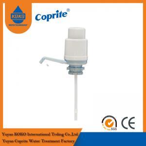China Plastic Manual Drinking Water Pump , 5 Gallon Bottled Water Pump wholesale