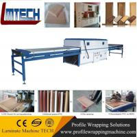 China kitchen furniture wooden kitchen cabinet vacuum membrane press machine wholesale