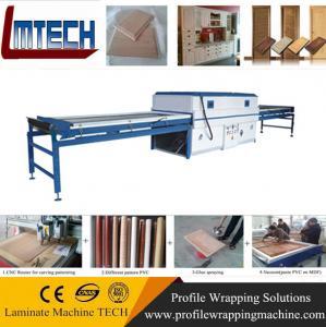 China Vacuum Membrane Press MDF door making machine on sale