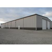 China Prefabricated Long Span Galvanized Steel Structure Workshop Color Steel Sheet Material wholesale