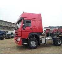 China Howo7 6X4 Tractor Trailer Truck LHD 10 Wheels HW 79 High Roof Cab Two Berths 102 km / h wholesale