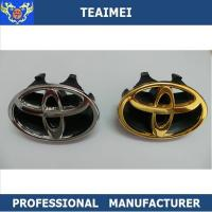 China 90mm Custom Car Emblems Front Grill Badge Emblem Auto Parts Car Emblem wholesale