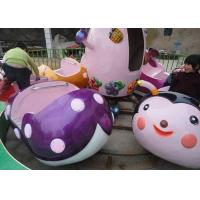 China 12 Seats Capacity Carousel Carnival Ride With FRP And Galvanized Steel Material wholesale