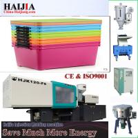 China Thermoplastic Plastic Injection Molding Machine For Plastic Storage Containers on sale