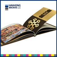 China Environmental Hardcover Book Printing with silk ribbon , professional photography book printing on sale