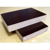 China Film Faced Plywood for Concret and Poplar and birch Core 18mm, black and brown shuttering plywood wholesale