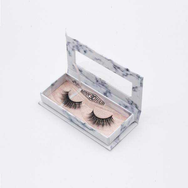 Quality Natural long 3d Mink Lashes 3d Mink Fur Eye Lashes Not chemically treated for sale